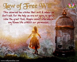 Law of Free Will_Reiki Paradise
